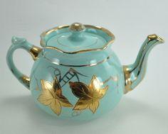 Pottery Trend Mark Beautiful Arthur Wood Tea Set