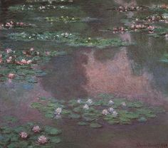 Claude Monet Water-Lilies 36 painting for sale, this painting is available as handmade reproduction. Shop for Claude Monet Water-Lilies 36 painting and frame at a discount of off. Monet Paintings, Landscape Paintings, Abstract Paintings, Les Nénuphars Monet, Claude Monet Pinturas, Artist Monet, Kunsthistorisches Museum, Monet Water Lilies, Japon Illustration