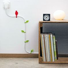 Poppy Nature Accents | 11 Ways to Cover Your Cords