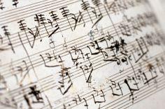 The Beethoven manuscript of Grosse Fuge in B flat major, Op 133 for string quartet