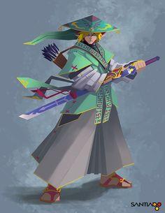 The Myth of Zelda - Link by Pertheseus at Deviantart