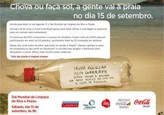 Dia Mundial de Limpeza de Rios e Praias #Sustentability
