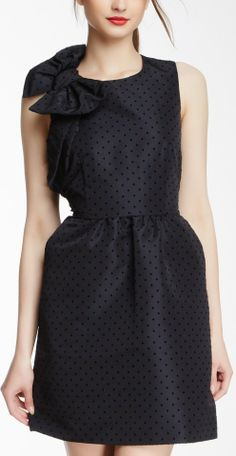 Valentino Polka Dot Bow Dress...in my dreams I can wear this!