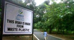 BioOrbis: Cidade indiana usa plástico descartado para fabric...