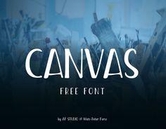 """Confira este projeto do @Behance: """"Canvas - Free Font"""" https://www.behance.net/gallery/38432159/Canvas-Free-Font"""