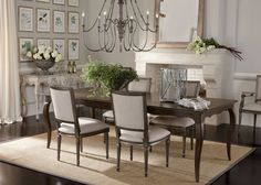 Who says country can't be classy?? The delicate curves of the Bijou Dining Table are echoed in the Elsa Chandelier and are reminiscent of when furniture was truly handmade.
