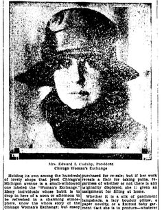 """An article about the Chicago Woman's Exchange, published in the Lexington Leader newspaper (Lexington, Kentucky), 23 September 1928. Read more on the GenealogyBank blog: """"Researching Your Female Ancestor & the 'Woman's Exchange.'"""" http://blog.genealogybank.com/researching-your-female-ancestor-the-womans-exchange.html"""