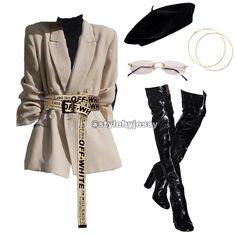 : Cheap Women S Fashion Blazers - Cute Outfits Kpop Fashion Outfits, Stage Outfits, Blazer Fashion, Edgy Outfits, Classy Outfits, Look Fashion, Teen Fashion, Korean Fashion, Fashion Trends