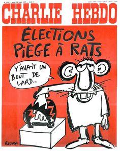 CHARLIE HEBDO 1977 Charlie Hebdo, Caricature, Comic Books, Comics, Cover, Mars, Twitter, King, March