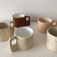 Handmade mugs Handmade mugs Pottery Mugs, Ceramic Pottery, Pottery Art, Ceramic Art, Ceramic Mugs, Keramik Design, Brown Aesthetic, Cute Mugs, Clay Crafts