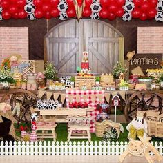 Festa Fazendinha muito linda por @lafiesta_decorator, adorei!  #kikidsparty
