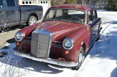 Two Owner '57 Mercedes Benz 190 Ponton Sedan - http://barnfinds.com/two-owner-57-mercedes-benz-190-ponton-sedan/