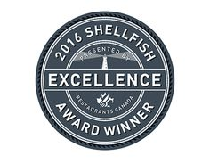 The Restaurants Canada Shellfish Excellence Award — I had been commissioned to develop the logo as well as the certificate. The award was presented to Phyllis Carr of Carr's Oyster Bar at the PEI International Shellfish Festival this past September. Jam Packaging, Packaging Design, Excellence Award, Working On Myself, New Work, Awards, Behance, Canada, Concept