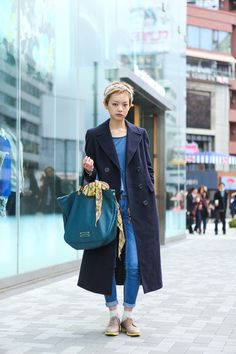 AZ wearing Brooks Brothers and MARC BY MARC JACOBS in Harajuku. | Fashionsnap.com