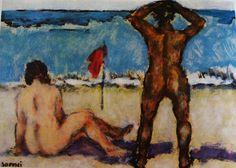 548. Soffici, Ardengo - Sulla spiaggia