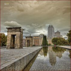 Templo de Debod - Madrid (III) by Pablo Arias on 500px