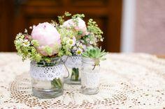 Tischdeko / decoration wedding table