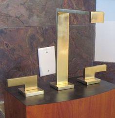 Bathroom faucet display Dream Bathrooms, Bathroom Faucets, Showroom, Bookends, Display, Projects, Home Decor, Bath Taps, Floor Space
