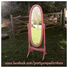 """""""#ascp #anniesloan #chalkpaint #distressed #distressedfurniture #etsy #forsale #handpainted #instahome #loveit #mirror #morethanpaint #paintedfurniture #pink #prettyuniquefurniture #refurbished #shabby #shabbychic #scandinavianpink #upcycled #vintage"""" Photo taken by @prettyuniquefurniture on Instagram, pinned via the InstaPin iOS App! http://www.instapinapp.com (03/10/2015)"""