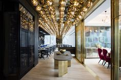 Alto restaurant interiors, by Tom Dixon Design Research Studio