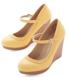 the prettiest lemon-hued mary jane wedges  http://rstyle.me/n/i2uqspdpe