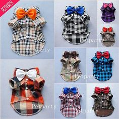 13 right size?? Fitwarm Handsome Boy Dog Clothes Comfy Dog Shirt Bow Tie Gift Puppy Polo Apparel