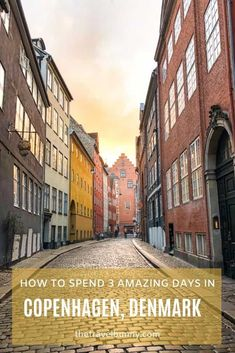 A complete 3-day Copenhagen itinerary and travel guide. Here you will find everything you need to have a fabulous trip to Copenhagen in winter. What to see and do, where to eat, where to stay, with free map and Copenhagen travel tips. Road Trip Europe, Europe Travel Guide, Travel Guides, Travel Destinations, Copenhagen Travel, Denmark Travel, Tivoli Gardens, European Travel, Travel Inspiration