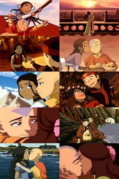 Kataang (Katara & Aang - Avatar: the last Airbender)