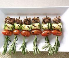 Mediterranean Lamb Skewers Recipe I would use BEEF instead