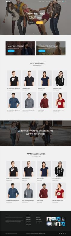 Alpha dot is awesome multipurpose responsive #WordPress theme for creative #eCommerce website with 18+ niche homepage layouts, 75+ pages & 20+ widgets download now..