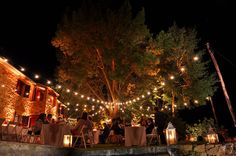 luminarie luci vintage esterno - Cerca con Google