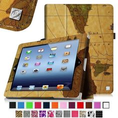 Magnet Leather Smart Case Cover for The new iPad 3 iPad 2/4 with Retina Display #Fintie
