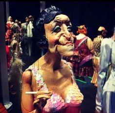 Lounge singer- Ronnie Burkett's Marionette