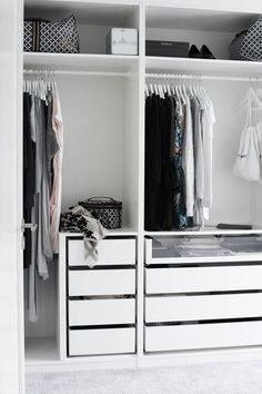 Lovely Walk In Closet Cabinets