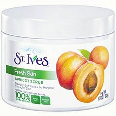 A delicious face scrub that smells of fuzzy apricots, helps to exfoliate skin and deeply cleans pores for fresher than fresh skin. Our Acne Control Apricot scrub contains salicylic acid Best Body Scrub, Body Scrub Recipe, Diy Body Scrub, Face Scrub Homemade, Homemade Moisturizer, St Ives Scrub, St Ives Apricot Scrub, Acrylic Nails Natural, Shopping