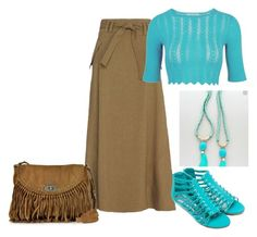 """""""Stone Jewelry"""" by freida-adams ❤ liked on Polyvore featuring A.L.C. and Zadig & Voltaire"""