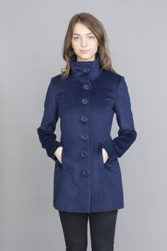 Iris Wool & Cashmere Jacket Cashmere Jacket, S Models, Iris, Buttons, Wool, Link, Fabric, Sleeves, How To Wear