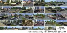 Military Cargo Trailers Pack v1.0 | ETS 2 Mods | ETSModding.com