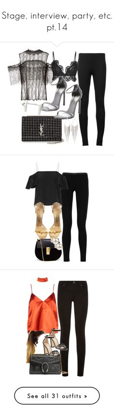 """""""Stage, interview, party, etc. pt.14"""" by olivia-mr ❤ liked on Polyvore featuring Puma, Wes Gordon, Isabel Marant, Stuart Weitzman, Yves Saint Laurent, French Connection, Jules Smith, Emilio Pucci, Fendi and Alexander McQueen"""