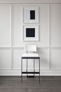 Panelling | Black & White | Powell and Bonnell