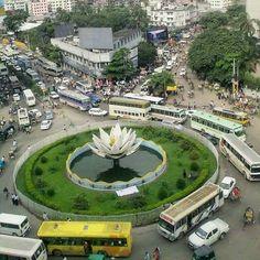 NB Bucket List #13 - Shapla Chattor Dhaka  Photo From (@naturalbangladesh)      by monsur.ali