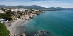 Beach in the Costa del Sol #Spain.