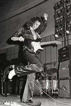 Richie Blackmore in 1974
