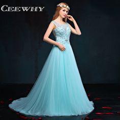 >> Click to Buy << Sleeveless Crystal Major Beading Sexy Backless Court Train Luxury Evening Dresses Long 2017 Prom Dresses Vestidos Para Festa #Affiliate
