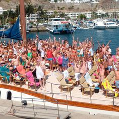 The MTV Boat Party in Gran Canaria is on a 5* Catarmaran