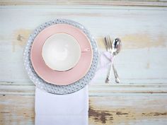 """Even though I don't have pink and blue china, this is a wonderful treat for a date night or even with the kids to dress up a dinner.  @Fiona lets try this, you are great with your """"finishing"""" school skills :-)"""