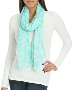 Falling Hearts Scarf - Scarves