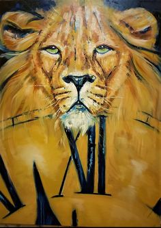 Adriaan Lotter Art, The time has come for the Lion of Judah to intervene and take charge again. God Jesus, Jesus Christ, King Of Time, Judah And The Lion, Cape Town, Lord, Artist, Painting, Animals