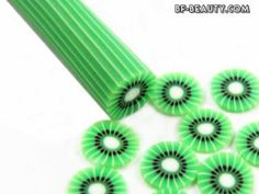 Beauties Factory - 12 Sticks for DIY Fruit Slice Decoration # The fruit sticks are made of soft rubber which can be cut into fruit slices easily with a cutte. Beauty Factory, Fruit Sticks, Nail Art Videos, Polymer Clay, Decoration, Nails, Outdoor Decor, Diy, Decor