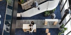 ANZ (Australia and New Zealand Banking Group) - Mobilier de bureau Bene